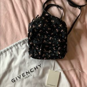 Givenchy Multicolored Floral Nano Nylon Backpack